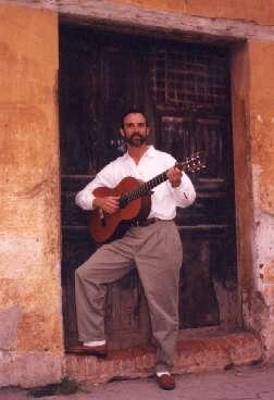 Tocando en Guatemala
